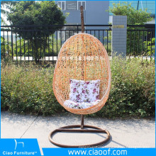 Commercial Cheap Patio Outdoor Rattan Hanging Egg Chair For Sale
