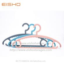 EISHO Colorful Adult Plastic Coat Hanger