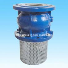Válvula de retenção silenciosa com flange para sistema de bomba de água