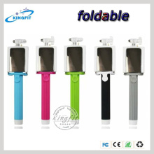 Mobile Phone Monopod, Colorful Selfie Monopod+ Self Camera Bluetooth Shutter, Selfie Stick with Bluetooth Shutter Button