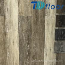 Revestimento impermeável do vinil de WPC da superfície rústica da madeira de carvalho