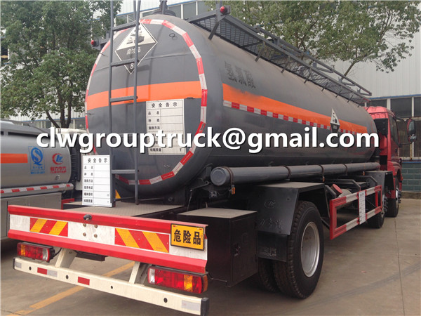Chemical Liquid Transportation Tanker Truck