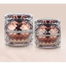 30ml 50ml Luxury Acrylic Cosmetic Cream Jar