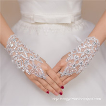 New design fashion sexy lady lace knit decoration wedding lace glove