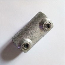 Key clamp galvanized single socket tee