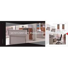 ЛДСП мебель - комплект офисной мебели 4