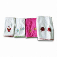 Hand Towel, Customized Embroidered Logos and Colors are Welcome, Made of 100% Cotton