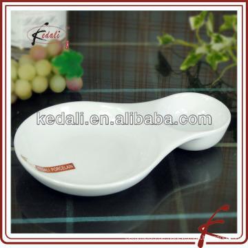 Weißes Porzellan Keramik-Öko-Schale