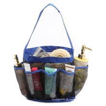 Malha Chuveiro Tote Caddy Secagem rápida Chuveiro Tote Bag Organizador de Banho saco para Shampoo Condicionador Sabão e Outros Acessórios Do Banheiro