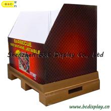 Caixa de exibição de palete de papel (B & C-C022)