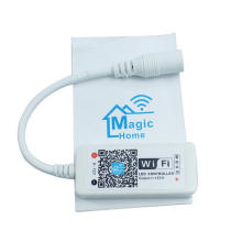 O mini wifi esperto da CC 12V conduziu o controlador para a luz de tira conduzida RGBW