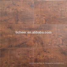 Indoor barato piso laminado piso de superfície de seda