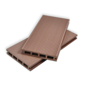 New generation waterproof affordable composite decking