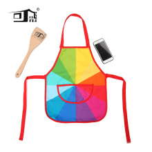 OEM Christmas Painter waterproof cooking Apron for kids with pockets
