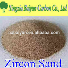 66% high purity refractory zircon sand