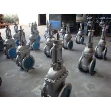 Válvula de agua con brida de acero fundido