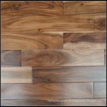 Revestimento pequeno da madeira maciça da acácia da folha / assoalho de folhosa