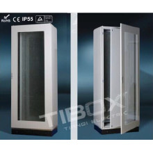 2015 Tibox One Piece Floor Stand Cabinet with Plexiglass/Inner Door