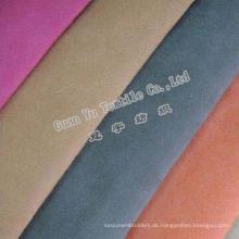 Polyester geprägte Samtvorhang Wildleder / Sofa Stoff)