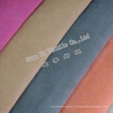 Polyester gaufré rideau de velours Suede / canapé tissu ()