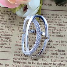 2015 Anel de prata da jóia da forma 925 da mulher quente da venda (R10517)