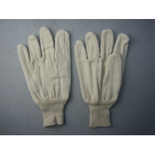 Two Layers Thick Canvas Cotton Anti-Heat Work Glove