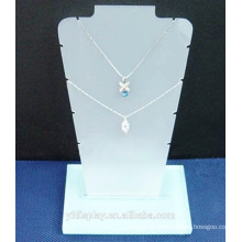 Superior Qaulity White Acrylic Necklace Display