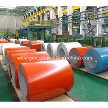 2016 Neue hochwertige Farbe beschichtete Stahlspule PPGI Lieferanten