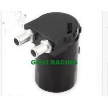 Tanque de contenedor de aceite negro de aluminio Reservior con deflector de Brether