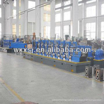 Linha de produção de tubo soldado de costura reta de alta frequência