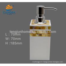 Hot Sale Golden MOP Distributeur de savon à main liquide pour accessoire de salle de bains