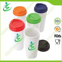Coupe de café de 16 Oz PP avec manchon sans BPA