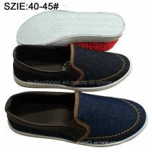Slip de los nuevos hombres de la moda del estilo en los zapatos casuales del dril de algodón de Sheos (MP16721-12)