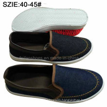 New Style Fashion Men′s Slip on Casual Sheos Denim Shoes (MP16721-12)