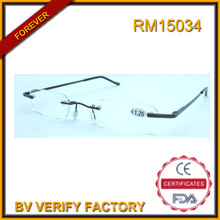 2016 RM15034 nuevo diseño Slim lectura de alta calidad gafas