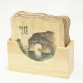 tapis de table en bambou