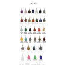 Подвески с камнем в виде слезы, подвески с природными каплями, женское ожерелье с камнем в виде капли для самостоятельного изготовления ювелирных изделий
