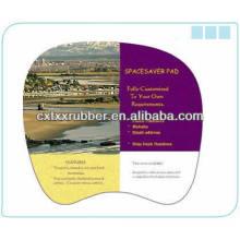 Tapis de souris en tissu doux, tapis de souris 3d promotionnel, pads pvc pour ordinateur