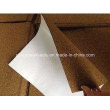 Пробковый резиновый лист, пробковый резиновый лист с самоклеящимся листом