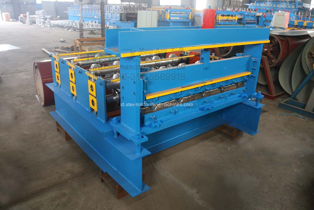 Aluminium Roofing Cold Curving Machine