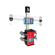 Automobile 3D Wheel Alignment Machine Price for two post car lift Auto Lifting Camera Crossbeam 3D Alignment Machine