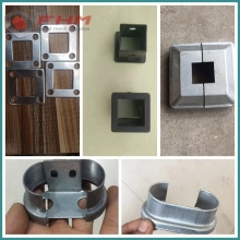 Galvanized PVC Coated Garden Fence Fittings Aksesoris