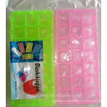 JML venda quente em forma de icve bandeja cuber / bandeja personalizada coloridos gelo cuber