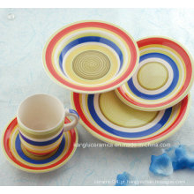 Conjunto de jantar de cerâmica de fornecimento de fábrica