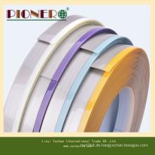 Hochglänzende PVC-Kantenverkleidungen für Karton und Möbel