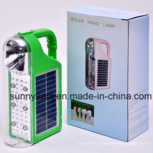 Outdoor Camping Solar Rechargeable LED Lantern Light