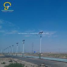 Usine directement led lampadaires solaires