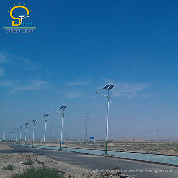 La famosa marca china personalizada llevó la luz de calle solar al aire libre