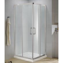 Boîtier de douche facile à installer Verre trempé de 6 mm