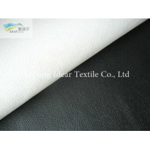 Soft Embossed PU Leather Fabric/Faux PU Leather Fabric